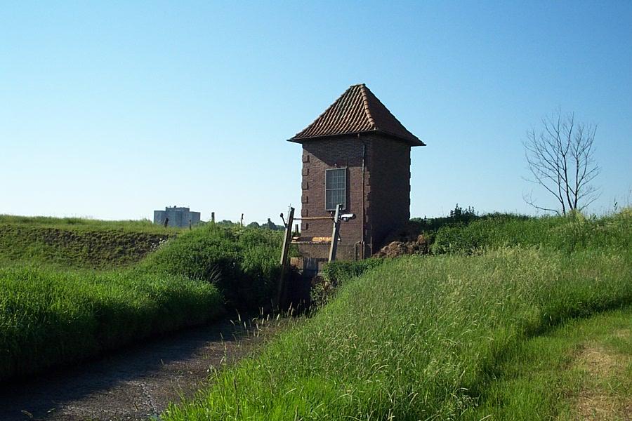 Schöpfwerk Mühlenbarbek (östliche Ducht)